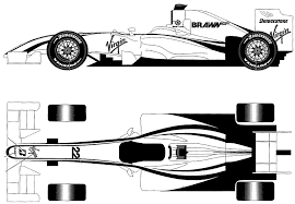 The sl 63 amg, as the official f1� safety car, is to continue to help ensure maximum safety, this time for the 2009 formula 1 season. 2009 Mercedes Benz Brawn Gp Bgp001 F1 Formula V2 Blueprints Free Outlines