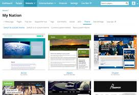 themes create create a website theme with nationbuilder