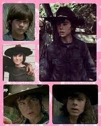 I'm boring so I made a Carl/Chandler Collage:))) please like and repin*-*  ~Antonia | Chandler riggs, Carl grimes, Chandler