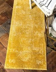 yellow runner rug uk 2 x 6 7 area rugs 1 0 s image