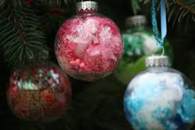Decorating Clear Christmas Balls Impressive Glass Ball Ornament For Kids Happy Hooligans