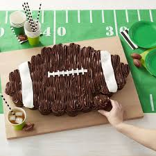Football Cupcake Cake Football Cake Ideas Wilton
