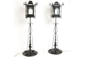 wrought iron standard lamps