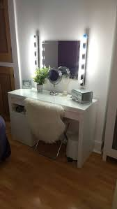 dressing table lighting. DIY Vanity Mirror With Lights For Bathroom And Makeup Station | Malm Dressing Table, Tables Table Lighting I