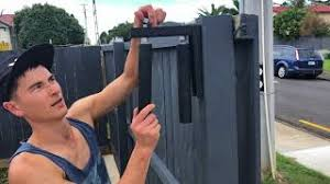 install an automatic sliding gate
