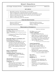 resumes skills and abilities
