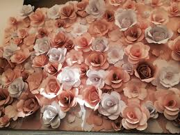 Paper Flower Wall Rental Paper Flower Backdrop For The Wedding Singapore