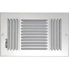 sdi grille 6 in x 12 in ceiling sidewall vent register