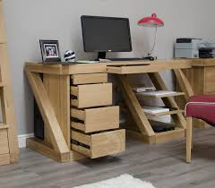 brilliant simple desks. Amazing Solid Oak Computer Desk For Brooklyn Large OAKTOK013 New Right Brilliant Simple Desks M