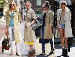 8 ways to wear the trench coat trend