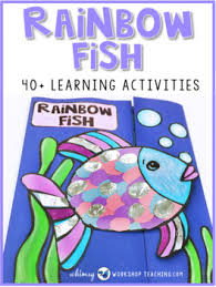 rainbow fish book panion 70 pages