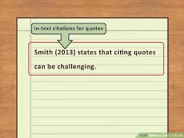 Citing A Quote Inspiration 48 Easy Ways To Cite A Quote With Pictures WikiHow