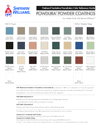Sherwin Williams Industrial Color Chart Sherwin Williams Powder Coat Color Chart Best Picture Of