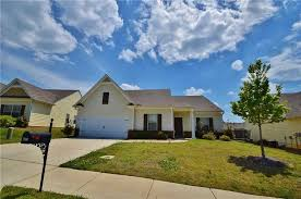 nearly new ranch with four bedrooms on one level huge open kitchen has granite countertops