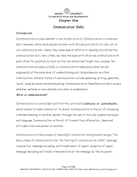 Key Skills Meaning Communication Skill For Mca Student Docsity