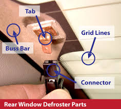 defroster troubleshooting and repair resource rear window defroster demister defogger parts