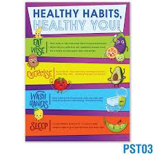 Chart On Healthy Habits Good Food Habits Chart For School Www Bedowntowndaytona Com