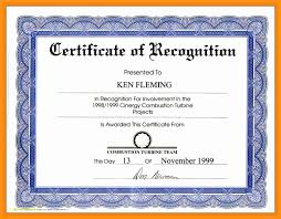 Example Of Award Certificate Top Result Award Certificate Wording New Certificate Of Appreciation 1