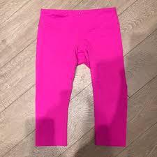 Splits59 Size Chart Splits59 Neon Pink Crop Leggings