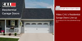 Video An Overview of CHI Residential Garage Door Styles