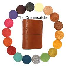 Design Your Own Dream Catcher Dreamcatcher PASSPORT SIZE Midori Travelers Notebook Leather 70