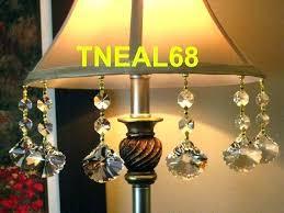 af lighting elements crystal teardrop mini chandelier images magnetic drops lot of 6 leaf shape home