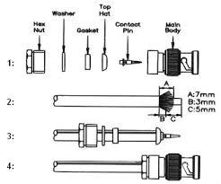 electronics pin outs rf connectors bnc coax f n tnc bnc er on connectors