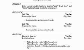 Sample Resume Format For Mechanical Engineering Freshers Filetype