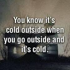 Cold Quotes Classy 48 Best Quotes About Cold Cold Quotes QuotesOnImages