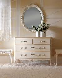 Dresser made of wood with four drawers Ambiente Notte, Savio ...
