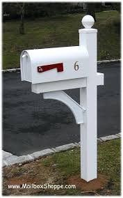 Mailbox With Post Universal Forest Products 6 Ft Pressure Treated