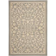 this review is from courtyard gray natural 9 ft x 12 ft indoor outdoor area rug