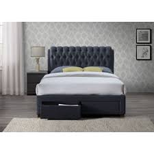 upholstered leather sleigh bed. Sorel Fabric Upholstered Sleigh Bed - Luxury Leather Beds Beds.co.uk T