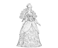 Free Coloring Pages Of Barbie Fashion Fairytale Barbie Fashion