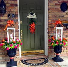 front door decorating ideasIn Front Door Decorating Ideas For Spring 51 For Home Images With
