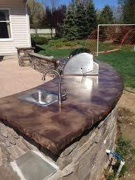 U Affordable Outdoor Kitchens Grill Island With Sink Outside Built In  Bbq