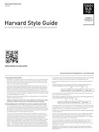 Download Referencing Harvard Quick Guide Docsharetips