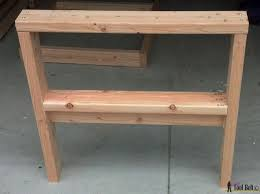 Easy Table Plans Diy Outdoor Seating Her Tool Belt