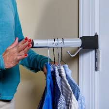 Hinge N Hang Mounts A Towel Bar To Your Door Hinge