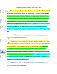 Example Of Introduction Paragraph To An Essay