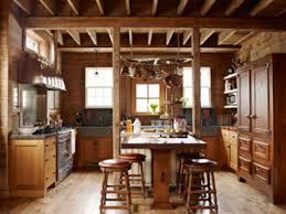 rustic cabin kitchens. Astonishing Image Of Rustic Cabin Kitchens