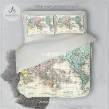 full size of map king size duvet cover map duvet cover canada antique map of world