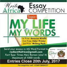 radiant initiative for africa essay contest african youth corner write for africa essay competition 2017