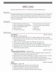 Resume Format Hotel Management Luxury Housekeeper Resume Format