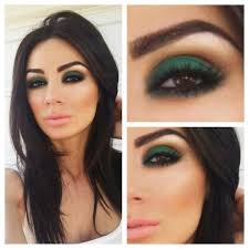 eyeshadows for brown eyes green