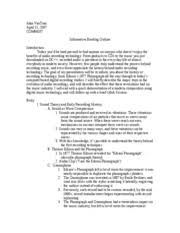 informative essay on music informative essay