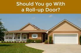 are you considering going from a traditional garage door to a roll up door if so you ll be happy to know that this can be done
