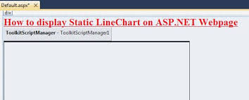 Ajax Line Chart Control In Asp Net How To Display Static Line Chart Graph On Asp Net Web Page