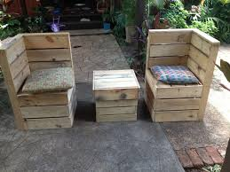 diy outdoor pallet sectional. Patio \u0026 Garden : Build Outdoor Sectional Furniture And Wood Pallet Coffee Table With The Wooden As Incredible Tips For Successful Diy S