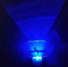 Blue Plug In Night Light Tinkerbell Custom Acrylic Blue Led Plug In Night Light